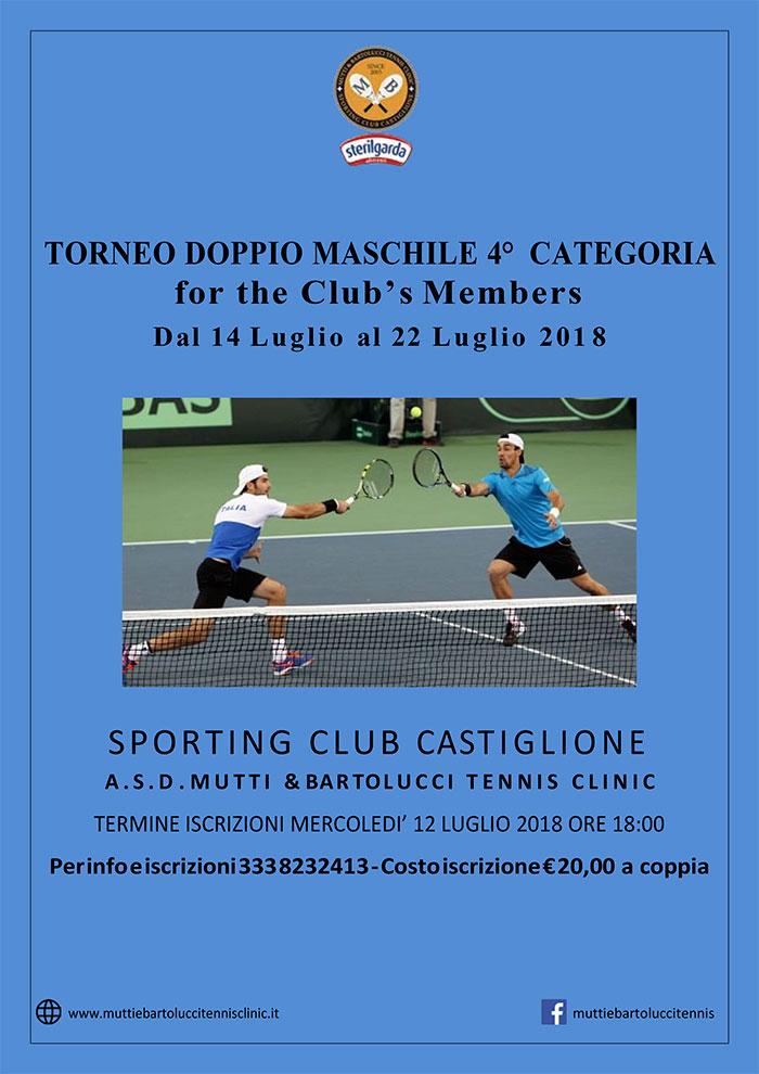 torneo doppio di tennis